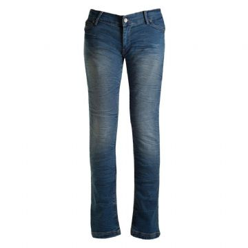 Bull-it Motorcycle Motorbike Jeans Ladies Ocean 17 SR6 Slim Fit Regular Leg